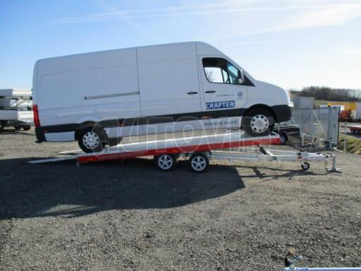 Plato pro převoz velkých vozidel JMB 3,5T 5,15x2,09 ALU č.61