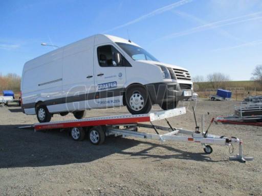 Plato pro převoz velkých vozidel JMB 3,5T 5,15x2,09 ALU č.62