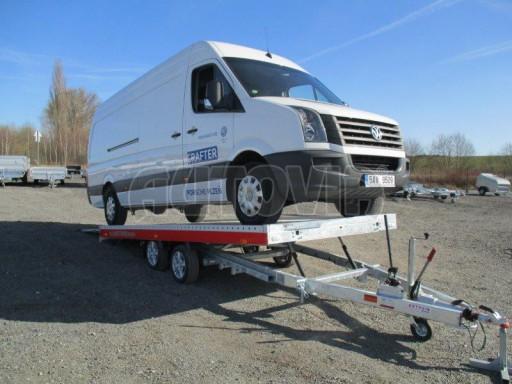 Plato pro převoz velkých vozidel JMB 3,5T 5,15x2,09 ALU č.63