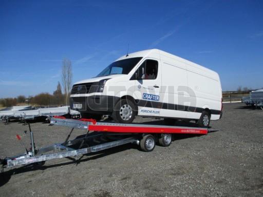 Plato pro převoz velkých vozidel JMB 3,5T 5,55x2,09 č.8