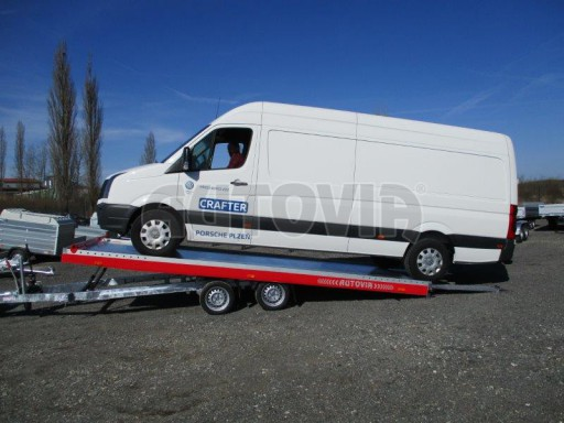 Plato pro převoz velkých vozidel JMB 3,5T 5,55x2,09 č.9