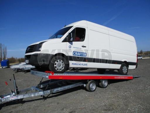 Plato pro převoz velkých vozidel JMB 3,5T 5,55x2,09 č.10