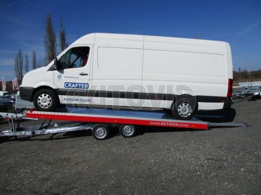 Plato pro převoz velkých vozidel JMB 3,5T 5,55x2,09 č.11