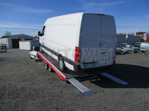 Plato pro převoz velkých vozidel JMB 3,5T 5,55x2,09 č.12