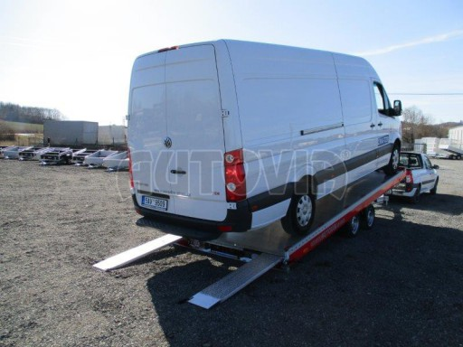 Plato pro převoz velkých vozidel JMB 3,5T 5,55x2,09 č.14