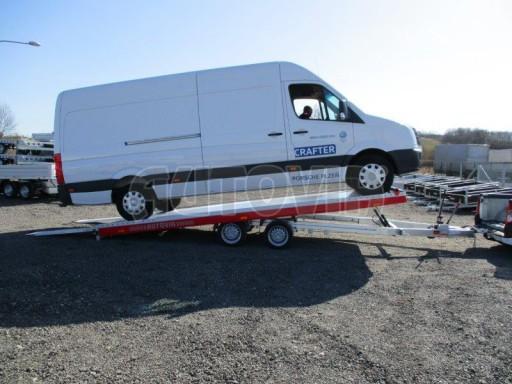 Plato pro převoz velkých vozidel JMB 3,5T 5,55x2,09 č.16
