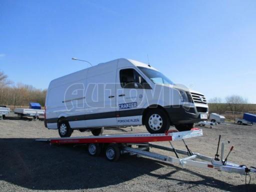 Plato pro převoz velkých vozidel JMB 3,5T 5,55x2,09 č.17