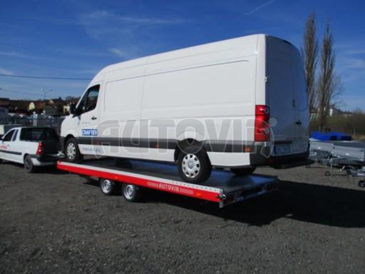 Plato pro převoz velkých vozidel JMB 3,5T 5,55x2,09 č.18