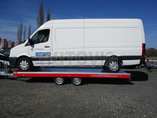 Plato pro převoz velkých vozidel JMB 3,5T 5,55x2,09 č.19