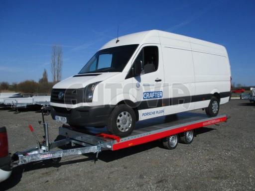Plato pro převoz velkých vozidel JMB 3,5T 5,55x2,09 č.20