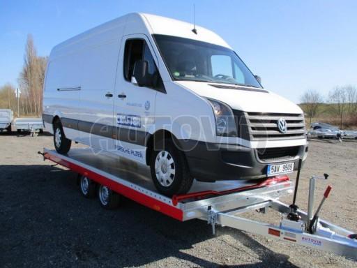 Plato pro převoz velkých vozidel JMB 3,5T 5,55x2,09 č.21