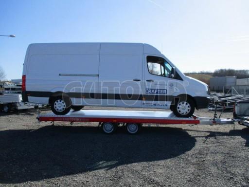 Plato pro převoz velkých vozidel JMB 3,5T 5,55x2,09 č.22
