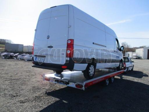 Plato pro převoz velkých vozidel JMB 3,5T 5,55x2,09 č.23