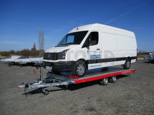 Plato pro převoz velkých vozidel JMB 3,5T 5,55x2,09 č.24