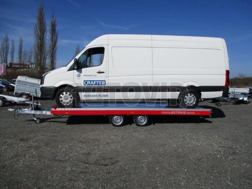 Plato pro převoz velkých vozidel JMB 3,5T 5,55x2,09 č.25
