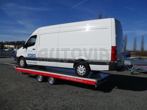 Plato pro převoz velkých vozidel JMB 3,5T 5,55x2,09 č.26