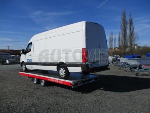 Plato pro převoz velkých vozidel JMB 3,5T 5,55x2,09 č.27