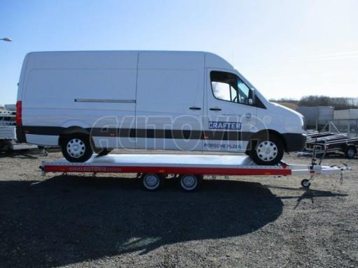 Plato pro převoz velkých vozidel JMB 3,5T 5,55x2,09 č.29