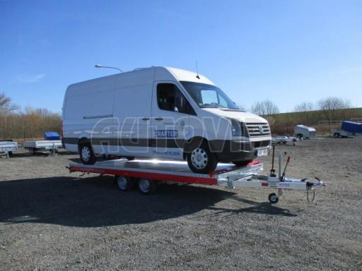 Plato pro převoz velkých vozidel JMB 3,5T 5,55x2,09 č.30