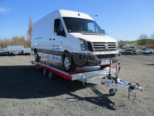 Plato pro převoz velkých vozidel JMB 3,5T 5,55x2,09 č.31