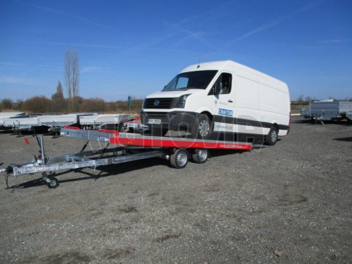 Plato pro převoz velkých vozidel JMB 3,5T 5,55x2,09 č.32