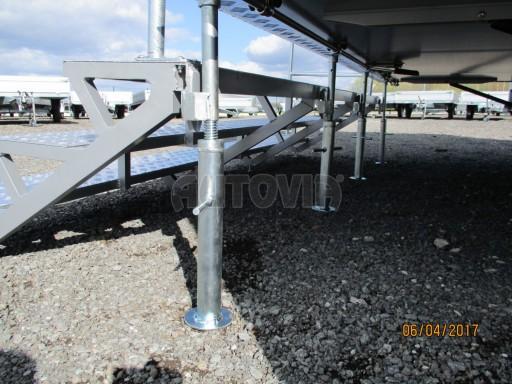 Prodejní stánek stříbrný VA 2,7T 5,09x2,38/2,30 č.12