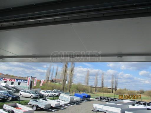 Prodejní stánek stříbrný VA 2,7T 5,09x2,38/2,30 č.16