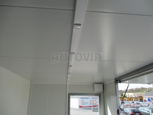 Prodejní stánek stříbrný VA 2,7T 5,09x2,38/2,30 č.17