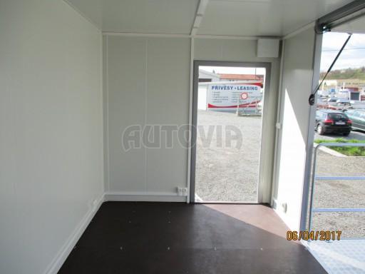 Prodejní stánek stříbrný VA 2,7T 5,09x2,38/2,30 č.18