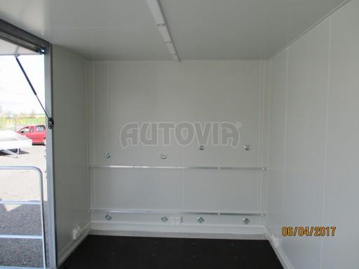 Prodejní stánek stříbrný VA 2,7T 5,09x2,38/2,30 č.19