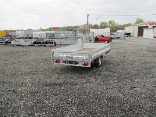Přívěsný vozík za osobní auto VER 1,35T 3,10x1,76/0,30 č.6