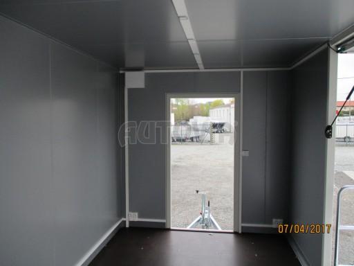 Prodejní stánek bílý VA 2,7T 5,09x2,38/2,30 č.14