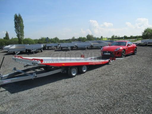 Přepravník sportovních automobilů s celohliníkovou ložnou plochou IM 2,7T 5,01x2,09 č.5