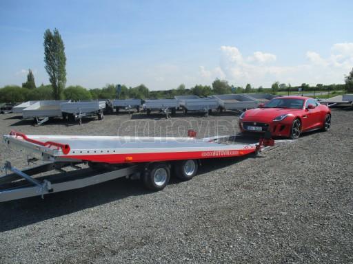 Přepravník sportovních automobilů s celohliníkovou ložnou plochou IM 2,7T 5,01x2,09 č.6