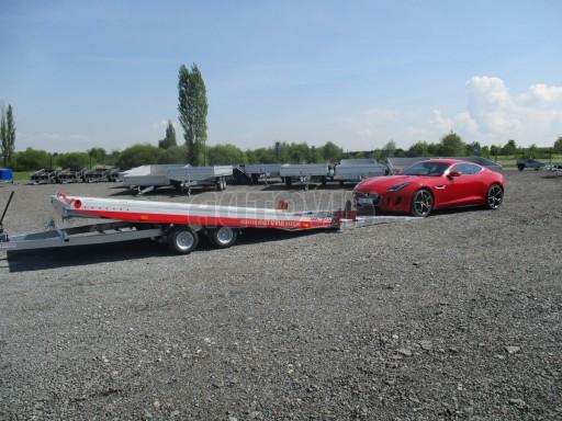 Přepravník sportovních automobilů s celohliníkovou ložnou plochou IM 2,7T 5,01x2,09 č.7
