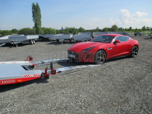 Přepravník sportovních automobilů s celohliníkovou ložnou plochou IM 2,7T 5,01x2,09 č.8