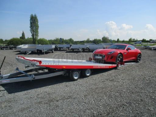 Přepravník sportovních automobilů s celohliníkovou ložnou plochou IM 2,7T 5,01x2,09 č.11