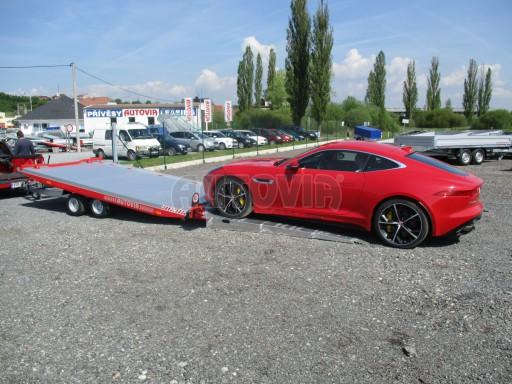 Přepravník sportovních automobilů s celohliníkovou ložnou plochou IM 2,7T 5,01x2,09 č.12