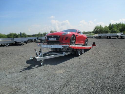 Přepravník sportovních automobilů s celohliníkovou ložnou plochou IM 2,7T 5,01x2,09 č.14