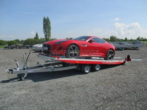 Přepravník sportovních automobilů s celohliníkovou ložnou plochou IM 2,7T 5,01x2,09 č.1