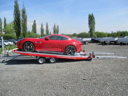Přepravník sportovních automobilů s celohliníkovou ložnou plochou IM 2,7T 5,01x2,09 č.15