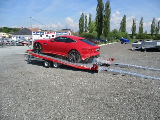 Přepravník sportovních automobilů s celohliníkovou ložnou plochou IM 2,7T 5,01x2,09 č.3