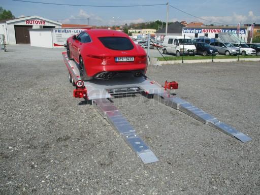 Přepravník sportovních automobilů s celohliníkovou ložnou plochou IM 2,7T 5,01x2,09 č.17