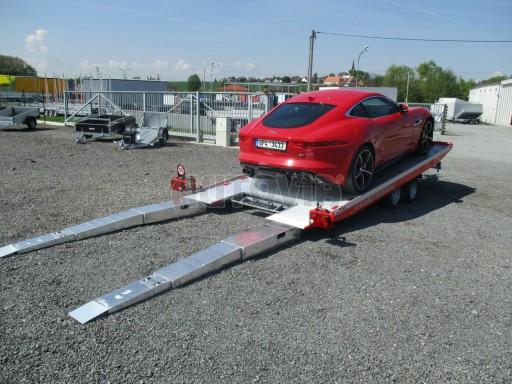 Přepravník sportovních automobilů s celohliníkovou ložnou plochou IM 2,7T 5,01x2,09 č.19