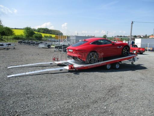 Přepravník sportovních automobilů s celohliníkovou ložnou plochou IM 2,7T 5,01x2,09 č.20