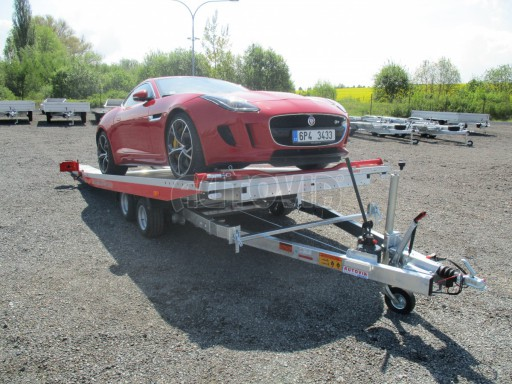 Přepravník sportovních automobilů s celohliníkovou ložnou plochou IM 2,7T 5,01x2,09 č.4