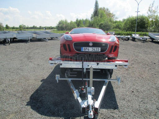 Přepravník sportovních automobilů s celohliníkovou ložnou plochou IM 2,7T 5,01x2,09 č.23