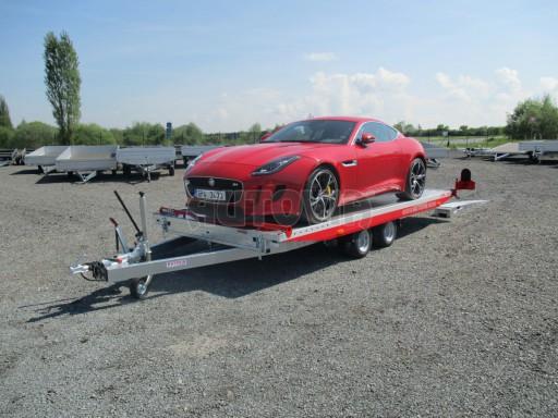 Přepravník sportovních automobilů s celohliníkovou ložnou plochou IM 2,7T 5,01x2,09 č.24