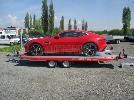 Přepravník sportovních automobilů s celohliníkovou ložnou plochou IM 2,7T 5,01x2,09 č.26
