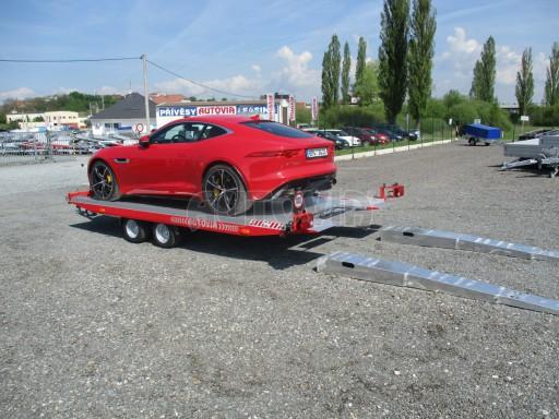 Přepravník sportovních automobilů s celohliníkovou ložnou plochou IM 2,7T 5,01x2,09 č.27